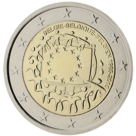 Joint €2 commemorative side 2015